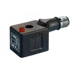 Connecteur(B) 2+T+LED+VDR- 24V - M12