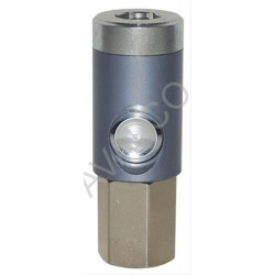 Coupleur de sécurité à bouton ISO 6150B DN5.5 corps taraudé G1/4