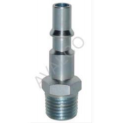 Embout màle pour coupleur à bouton ISO 6150C -14 DN8 fileté G1/2