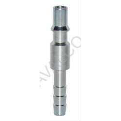 Embout femelle pour coupleur à bouton ISO 6150C - 14 DN8 cannelé D.8